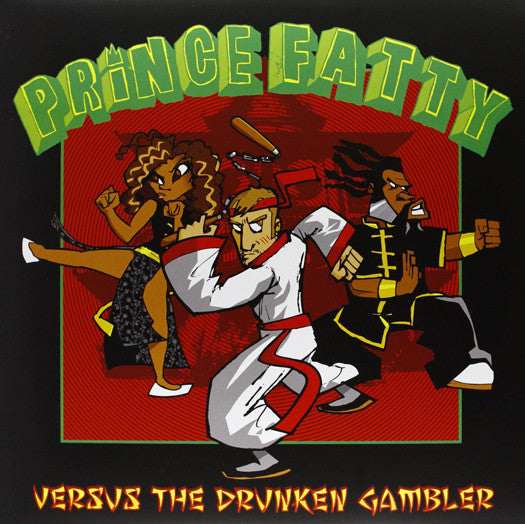 FATTY PRINCE VERSUS THE DRUNKEN GAMBLER LP VINYL NEW 33RPM