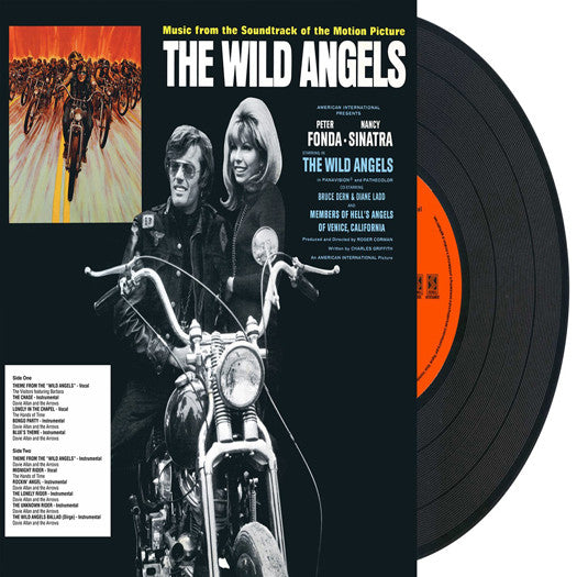 WILD ANGELS SOUNDTRACK LP VINYL NEW (US) 33RPM