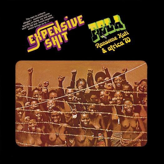 FELA KUTI EXPENSIVE SH*T LP VINYL AND DOWNLOAD NEW (US) 33RPM