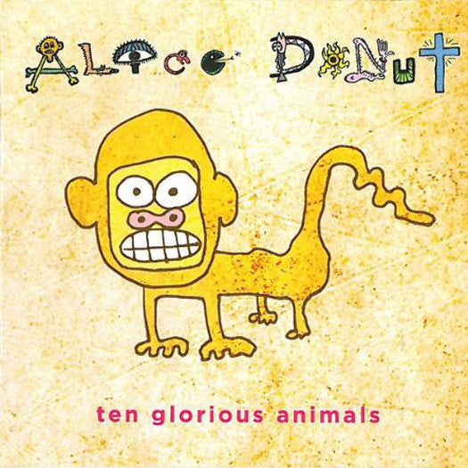 ALICE DONUT TEN GLORIOUS ANIMALS LP VINYL NEW (US) 33RPM
