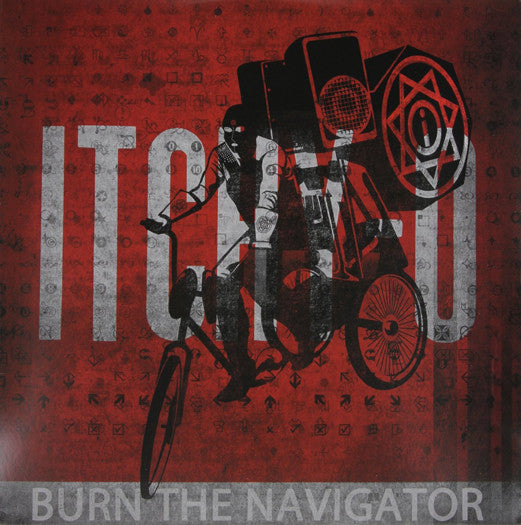 ITCHY-O BURN THE NAVIGATOR LP VINYL NEW (US) 33RPM