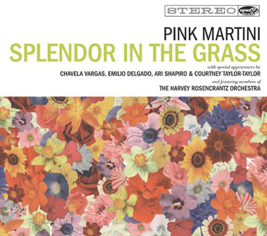 PINK MARTINI SPLENDOR IN THE GRASS LP VINYL NEW (US) 33RPM