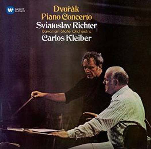 DVORAK PIANO CONCERTO. SCHUBERT WANDERER FANTASIA CD NEW
