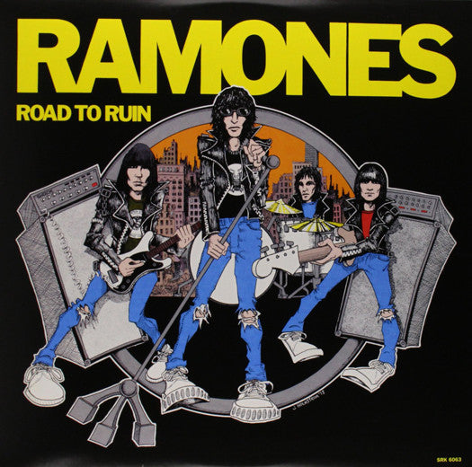 RAMONES ROAD TO RUIN LP VINYL NEW (US) 33RPM