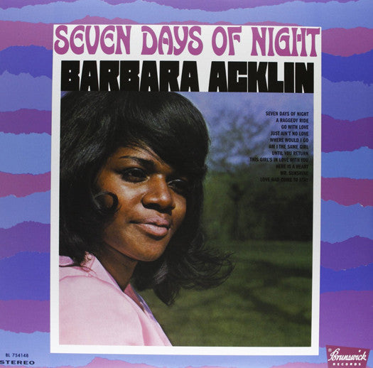 BARBARA ACKLIN SEVEN DAYS OF NIGHT LP VINYL NEW (US) 33RPM