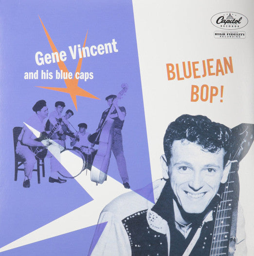 GENE & HIS BLUE CAPS VINCENT BLUEJEAN BOP EP VINYL NEW (US) 33RPM