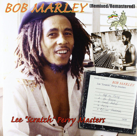 BOB MARLEY LEE SCRATCH PERRY MASTERS LP VINYL NEW 33RPM