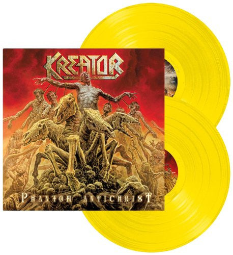 KEATOR PHANTOM ANTICHRIST 2ND LP VINYL NEW 33RPM