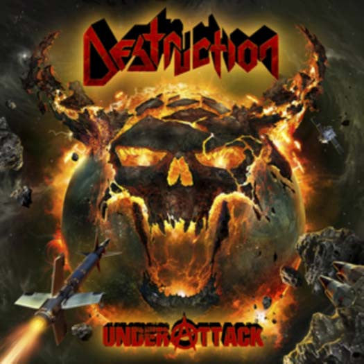 DESTRUCTION UNDER ATTACK 2LP VINYL NEW