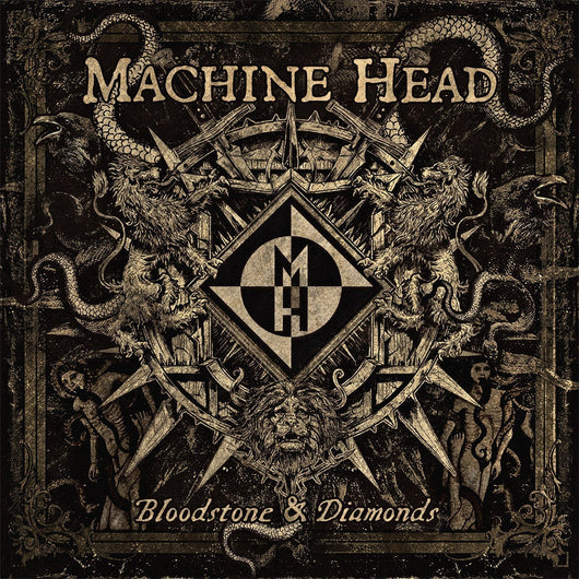 MACHINE HEAD BLOODSTONE & DIAMONDS LP VINYL 33RPM NEW 2014 LIMITED ED