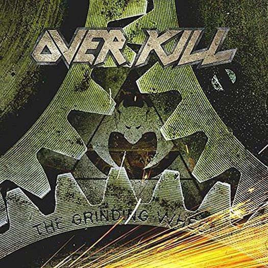 Overkill The Grinding Wheel INDIES LP yellow Vinyl NEW 2017