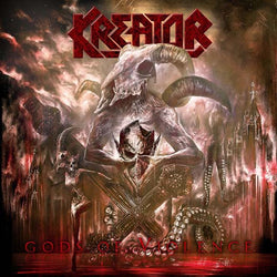 KREATOR Gods Of Violence LP Red Vinyl Ltd Box Set Brand NEW 2017