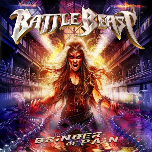 BATTLE BEAST Bringer Of Pain 2LP Ltd Ed Vinyl NEW 2017