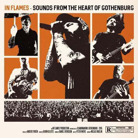 IN FLAMES Sounds From Heart Of Gothenburg 3LP Vinyl NEW