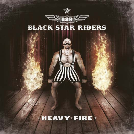 BLACK STAR RIDERS Heavy Fire LP Vinyl PIC DISC NEW 2017