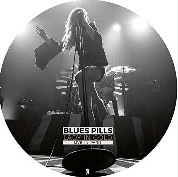 BLUES PILLS Lady In Gold Live in Paris 2LP Pic Disc NEW 2017