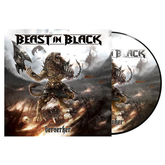 Beast in Black Berkserker Ltd Edition Picture Disc Vinyl LP New 2018