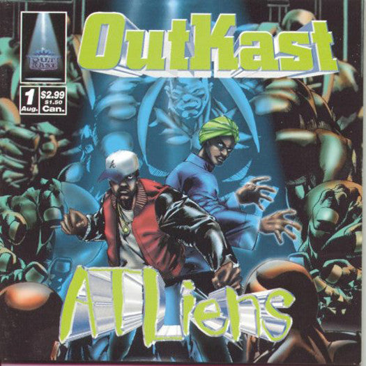 OUTKAST ATLIENS LP VINYL NEW (US) 33RPM