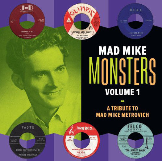 MAD MIKES MONSTERS 1 VARIOUS LP VINYL NEW (US) 33RPM