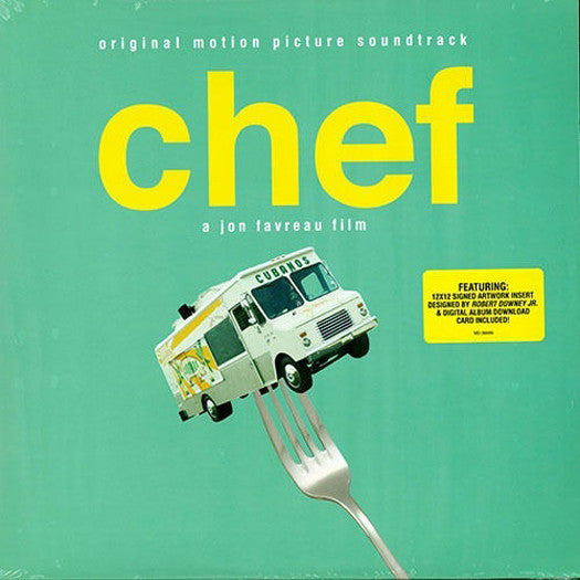 CHEF SOUNDTRACK LP VINYL NEW 2014 33RPM