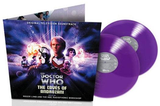 DR WHO THE CAVES OF ANDROZAR SOUNDTRACK LP VINYL NEW 2013 33RPM