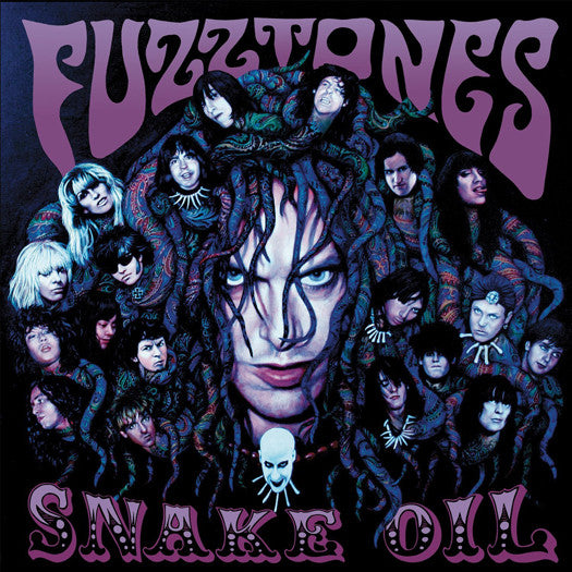 FUZZTONES SNAKE OIL DOUBLE LP VINYL NEW 33RPM