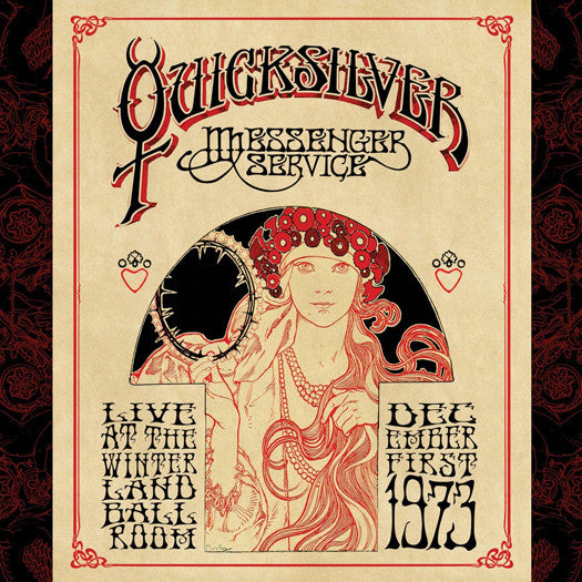 QUICKSILVER MESSENGER SERVICE LIVE WINTERLAND BALLROOM LP VINYL NEW