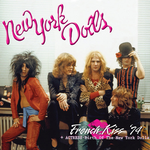 NEW YORK DOLLS FRENCH CASE BIRTH NEW YORK DOLLS DOUBLE LP VINYL NEW 33RPM