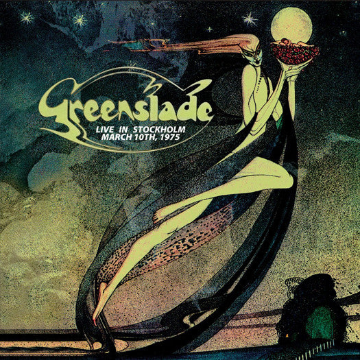 GREENSLADE LIVE IN STOCKHOLM MARCH 10TH 1975 LP VINYL NEW 33RPM