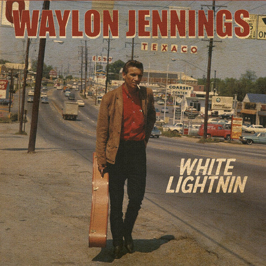 WAYLON JENNINGS WHITE LIGHTNING LP VINYL NEW 33RPM
