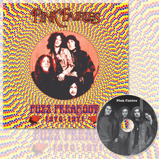PINK FAIRIES FUZZ FREAKOUT LP VINYL AND CD NEW 33RPM DELUXE EDITION