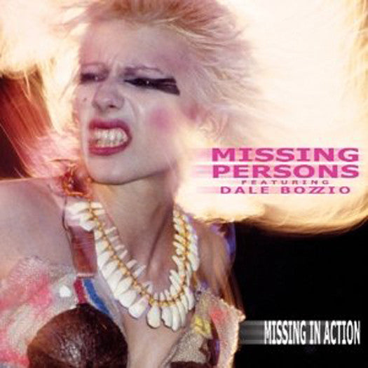 MISSING PERSONS FEAT DALE BOZZIO MISSING IN ACTION LP VINYL NEW 33RPM