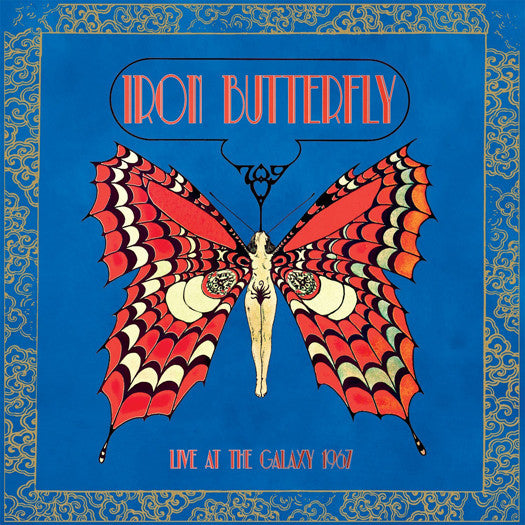IRON BUTTERFLY LIVE AT THE GALAXY 1967 LP VINYL NEW 33RPM