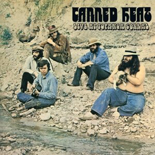 CANNED HEAT LIVE AT TOPANGA CORRAL LP VINYL NEW 33RPM