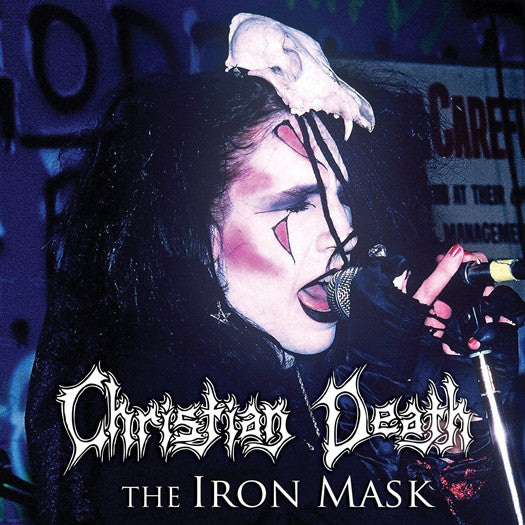 CHRISTIAN DEATH IRON MASK LP VINYL NEW 33RPM