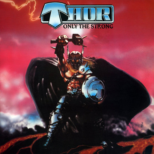 THOR ONLY THE STRONG LP VINYL NEW 33RPM