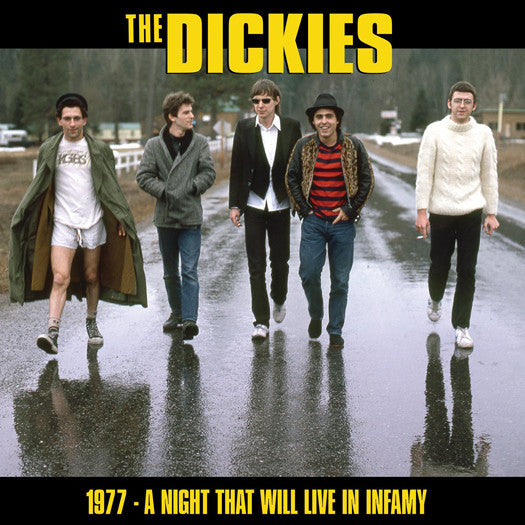 DICKIES A NIGHT THAT WILL LIVE IN INFAMY 1977 LP VINYL NEW 33RPM