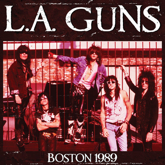 LA GUNS BOSTON 1989 LP VINYL NEW 33RPM LIMITED EDITION