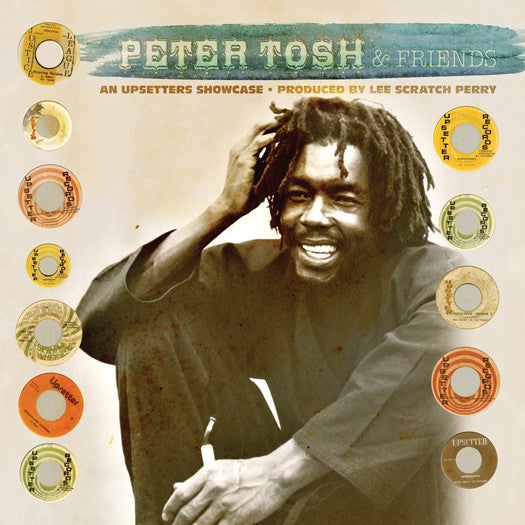 PETER TOSH AN UPSETTERS SHOWCASE LP VINYL NEW (US) 33RPM