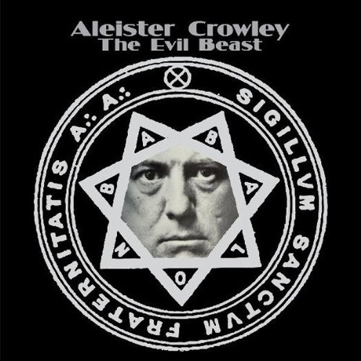 ALEISTER CROWLEY THE EVIL BEAST LP VINYL NEW 33RPM