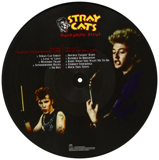 STRAY CATS ABILLY STRUT LP VINYL NEW 33RPM LIMITED EDITION