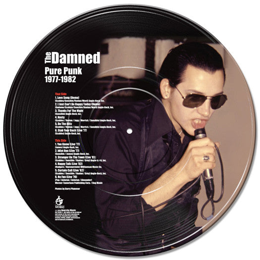 DAMNED PURE PUNK 1977 TO 1982 LP VINYL NEW 33RPM