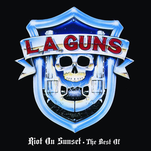 LA GUNS RIOT ON SUNSET THE BEST OF LP VINYL NEW 33RPM