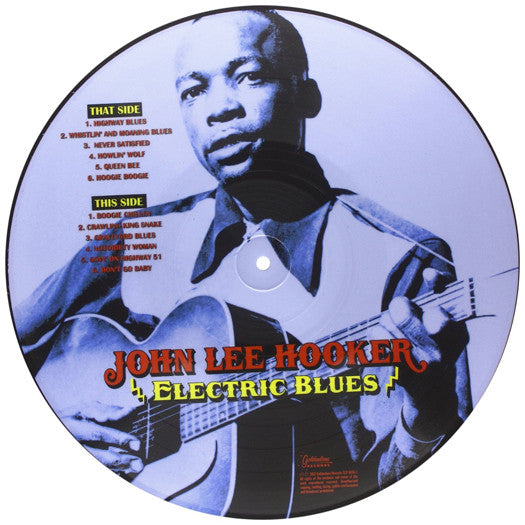JOHN LEE HOOKER ELECTRIC BLUES LP VINYL NEW 33RPM LIMITED EDITION