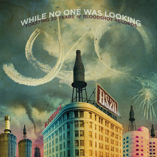 WHILE NO ONE WAS LOOKING TOASTING 20 YEARS VAR LP VINYL NEW (US)