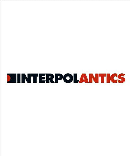 INTERPOL ANTICS LP VINYL NEW 33RPM 120GM US ISSUE
