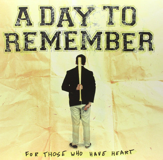 A DAY TO REMEMBER FOR THOSE WHO HAVE HEART LP VINYL NEW 2011 33RPM