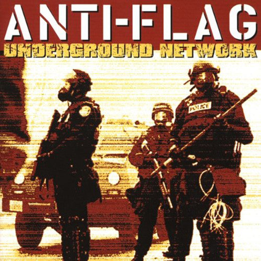 ANTI FLAG UNDERGROUND NETWORK LP VINYL 33RPM NEW