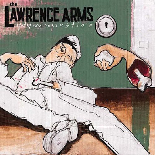 LAWRENCE ARMS APATHY AND EXHAUSTION LP VINYL NEW 33RPM 2002