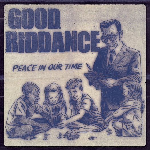 GOOD RIDDANCE PEACE IN OUR TIME LP VINYL 33RPM NEW